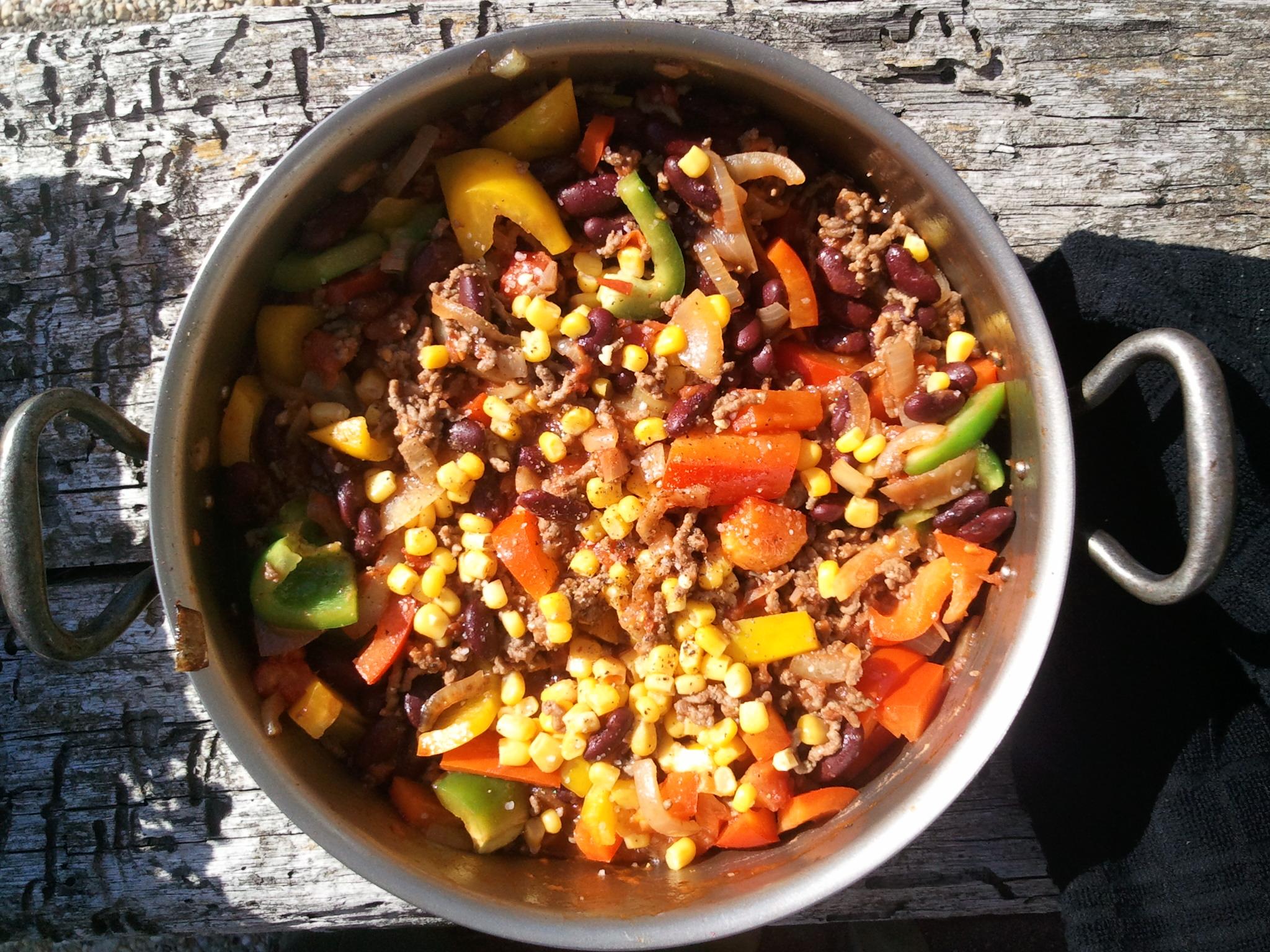 Eén pans recepten voor aan boord of kamperen