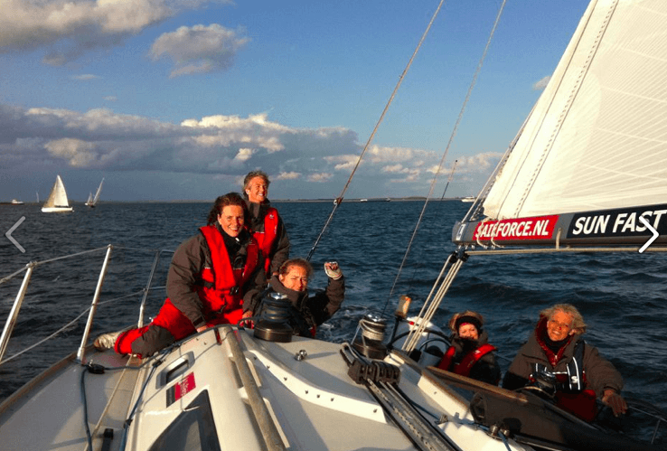 vrouwaanboord sailforce team vaart twilight races