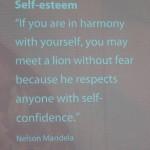 Inge Kikstra bij Vrouwaanboord - Nelson Mandela