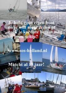 SOS-Holland Inge Kikstra bij Vrouwaanboord