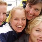 Inge Kikstra bij Vrouwaanboord -SOS-Holland vriendschap