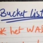 Bucketlist wad