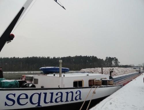 Met de winter aan boord