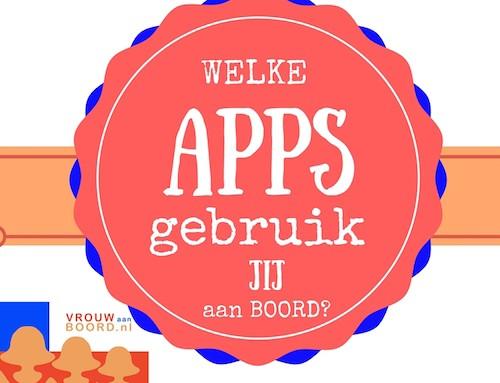 Apps, de 18 beste voor aan boord