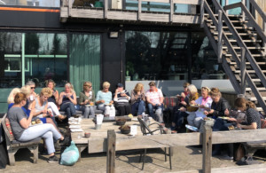 lunch vab event 2019 buiten