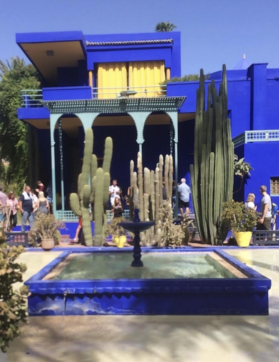jardin majorrele maroc vab